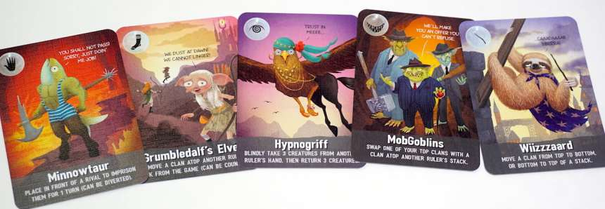 Cover Your Kingdom Free Creatures: Minnowtaur, Grumbledalf's Elves, Hypnogriff, MobGoblins, Wiizzzaard
