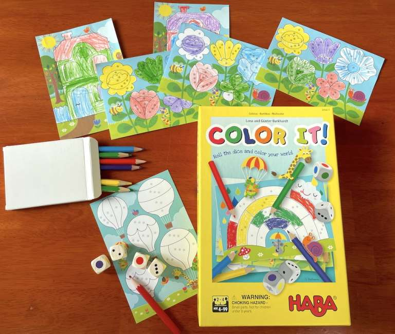 Color It! game with coloring sheets