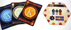 Star cards: A, F, K and Lynx constellation