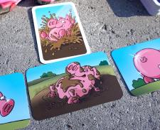 playing the Dirty That Pig card