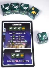 Huntress upgrade card: Savage II and Hunt