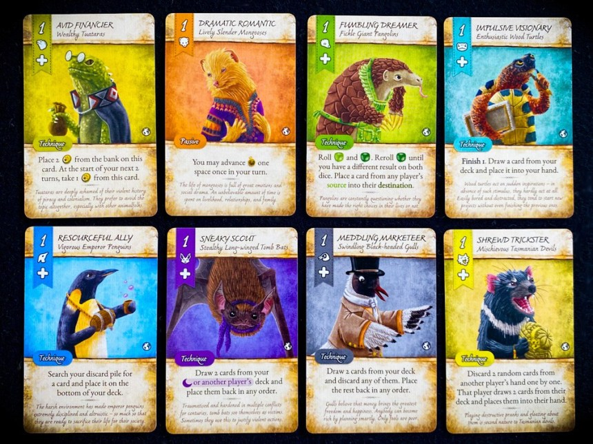 Dale Of Merchants Animalfolk value 1 starting cards