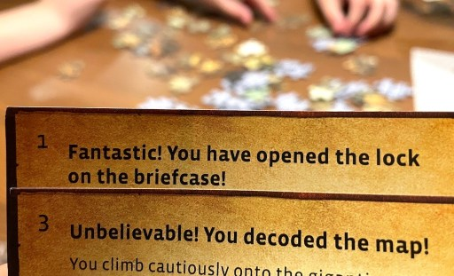 Fantastic! You have opened the lock on the briefcase! Unbelievable! You decoded the map!