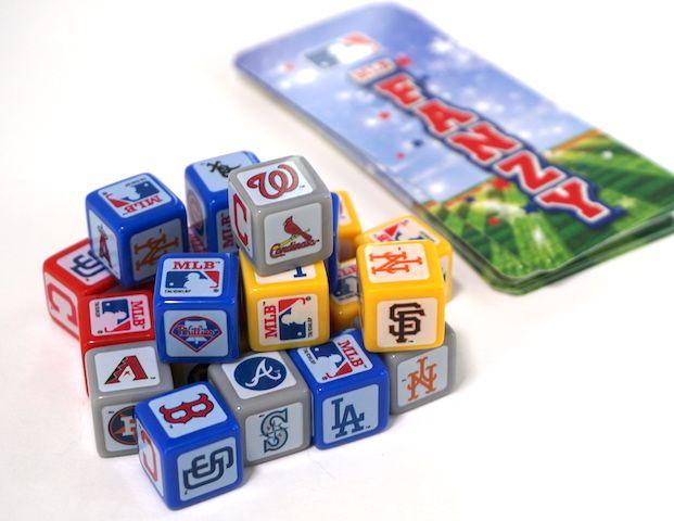 MLB Fanzy dice