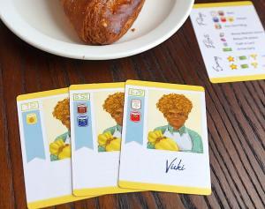 3 cards for Vicki
