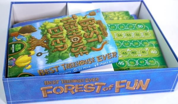 Best Treehouse Ever box inside the Forest of Fun box