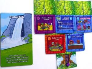 Mystery Falls and 2 level treehouse