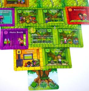 Forest of Fun treehouse cards