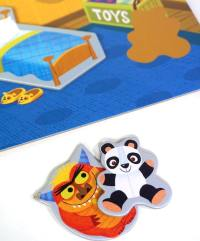 Go Away Monster - monster and teddy bear