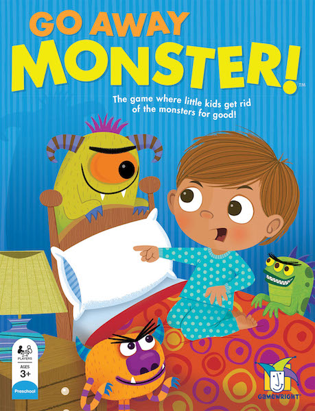 Go Away Monster! The game where little kids get rid of the monsters for good!