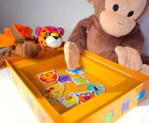 Go Away Monster - monsters in box