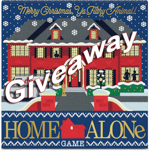 Home Alone Game - Giveaway