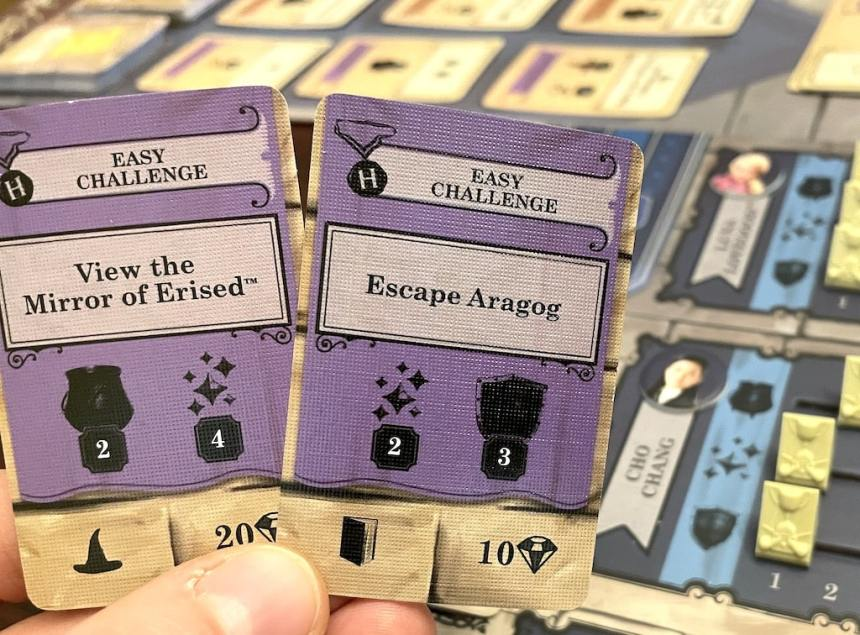 Easy Challenge: View the Mirror of Erised Easy Challenge: Escape Aragog