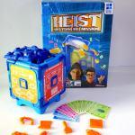 Heist box, safe, paper money, plastic components