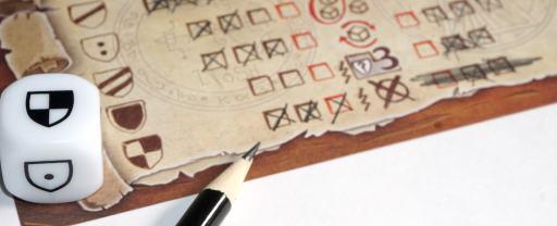 Xs on the spellbook