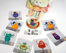 Octopus grabs Zilch token in Monster Match