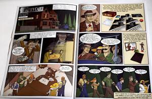 Mansky Caper Comic