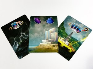 Mini DiverCity Corperation Cards