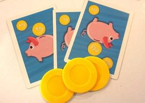 Piggy Bank - bank cards