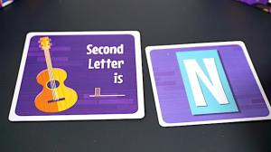 Second Letter is: N