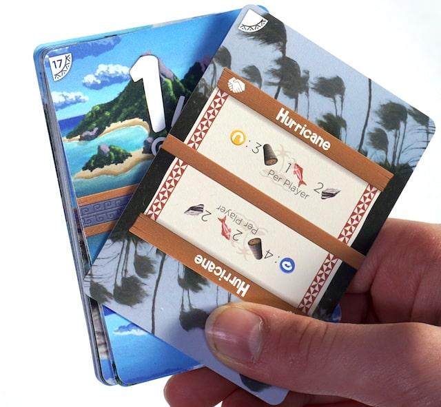 Palm Island cooperative card - Hurricane