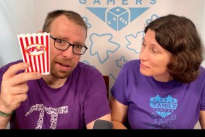Andrew and Anitra with Popcorn Dice