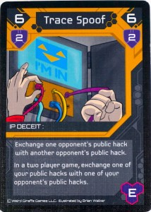Trace Spoof card