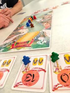 Shikoku game in play