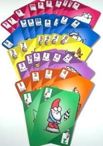 Simon's cat game suits: gnome, rat, dog, hedgehog, kitten, cat