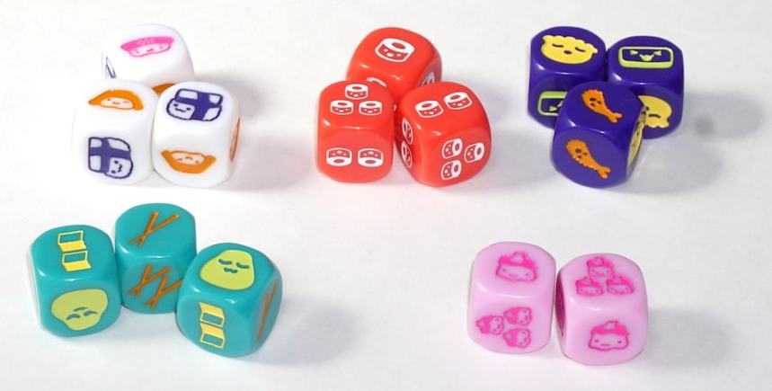 Sushi Roll dice