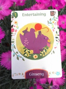 dragon card: Entertaining