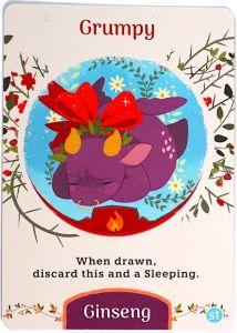Tea Dragon: Grumpy. When drawn, discard this and a Sleeping