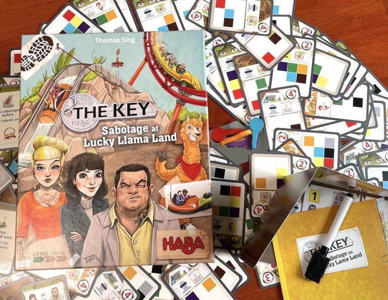 The Key Sabotage at Lucky Llama Land
