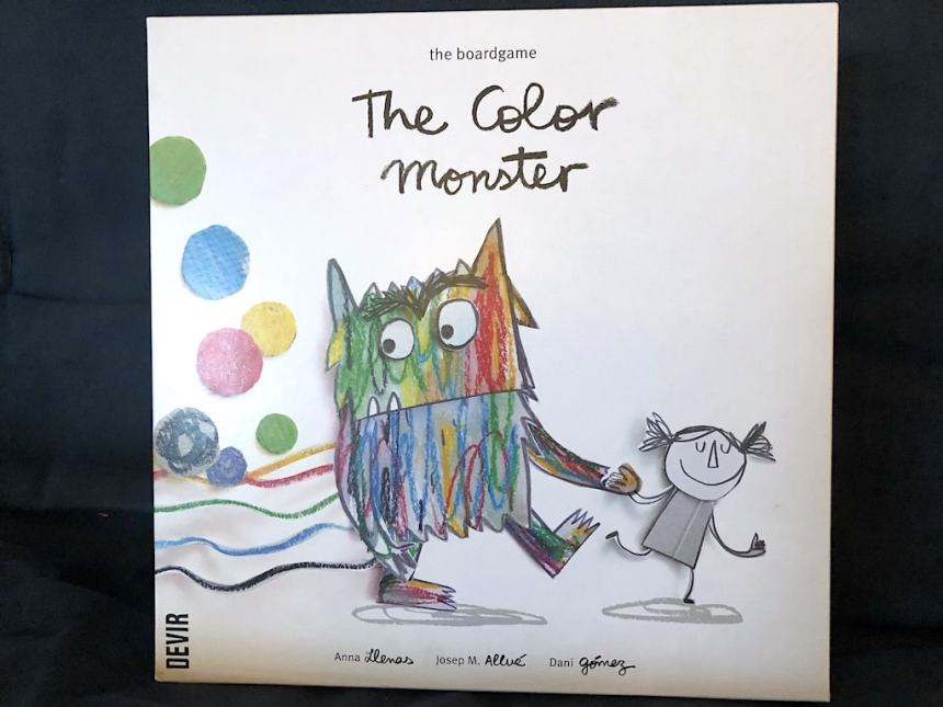 The Color Monster - the boardgame