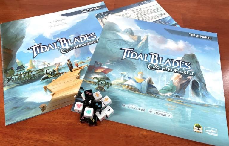 Tidal Blades: Heroes of the Reef rulebook and almanac