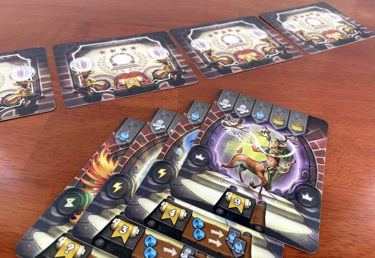 Portal bonus cards in Via Magica