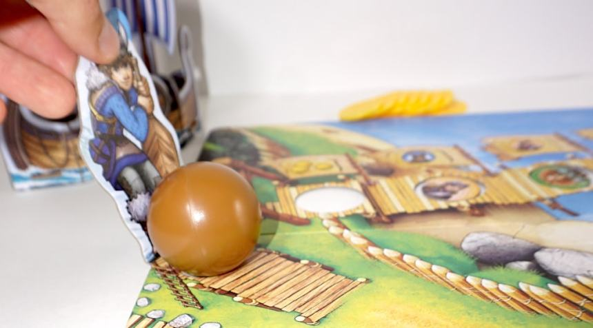 Pushing the ball in Valley of the Vikings