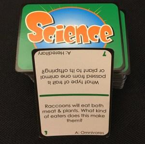 Wise Alec Science card