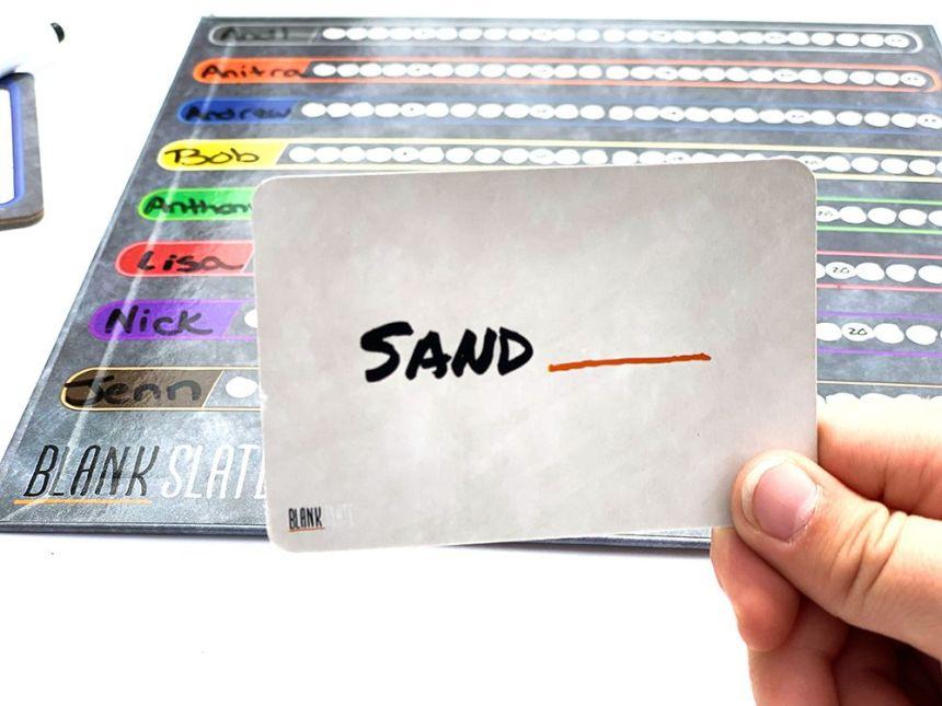Blank Slate Cue Card - Sand
