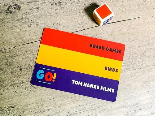 Board Games; Birds; Tom Hanks films
