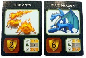 Fire Ants: 2 | Blue Dragon: 6