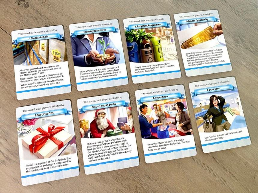 Funfair City cards