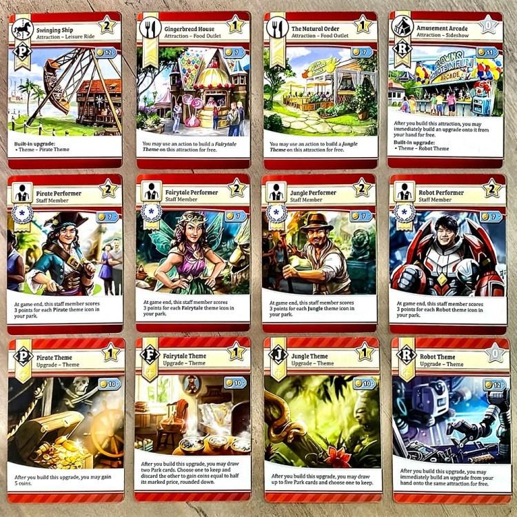 Funfair Theme Cards