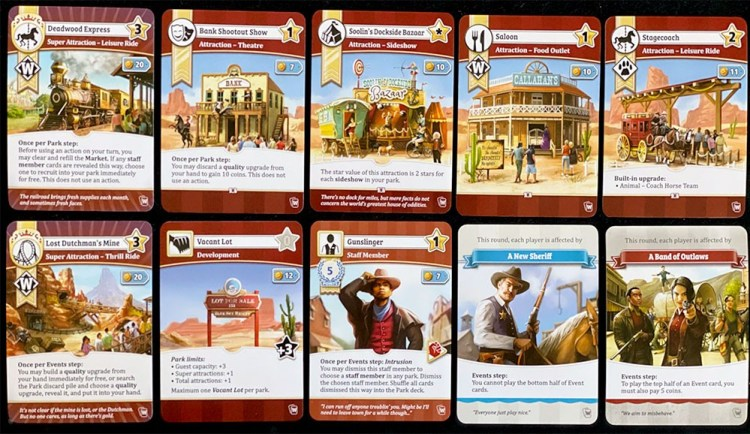 Unfair Western Pack Cards