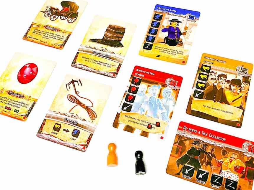 The Zorro Dice Game - Heroes and Villains expansion