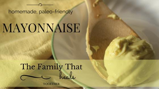 homemade mayonnaise