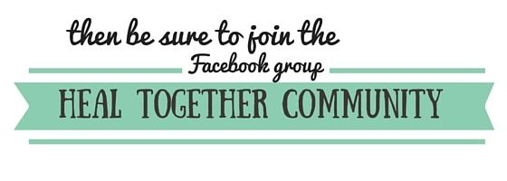 Join The Family That Heals Together's Facebook Group Heal Together Community