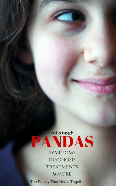 The Family That Heals Together free printable booklet: All About PANDAS