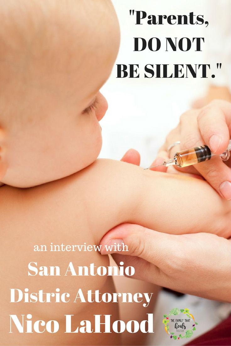 San Antonio DA Nico LaHood: