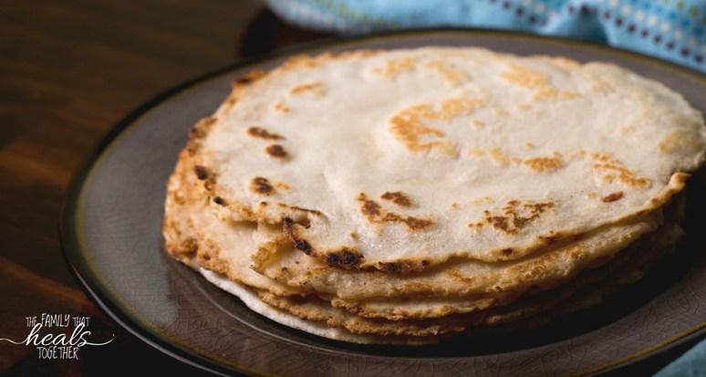 Easy-Peasy Paleo Tortillas   Grain- & Gluten-Free   Vegan